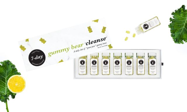 Green Juice Gummy Bears Cleanse Box