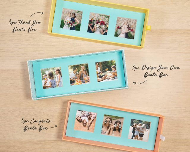 Ideas to Personalize A Candy Bento Box with Photos